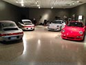 Sports Cars on Decorative Epoxy Flake Flooring