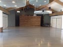 Auto Center Garage with Epoxy Concrete Floors