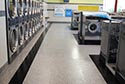 Laundromat with Flake Epoxy Floor Coating