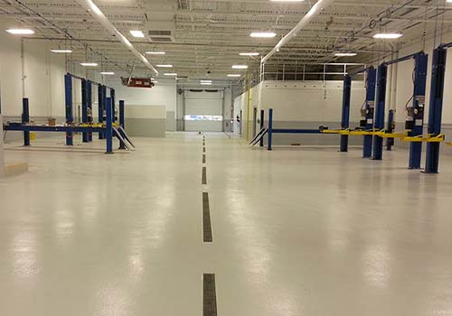 industrial strength epoxy flooring