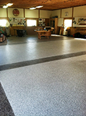 Decorative Concrete Coated Workshop