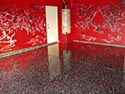 Oriental Styled Concrete Floor and Room