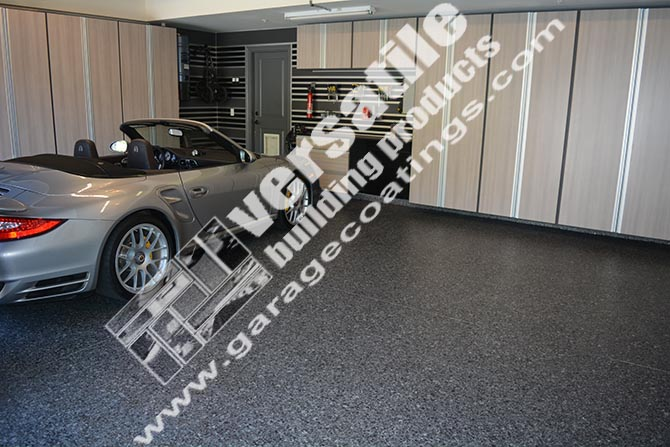 home garage floor coating detailed epoxy