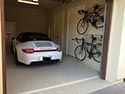 Home Garage beige with Porsche