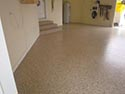 Tan Garage Floor Coating