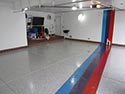Contemporary Garage Flooring Design