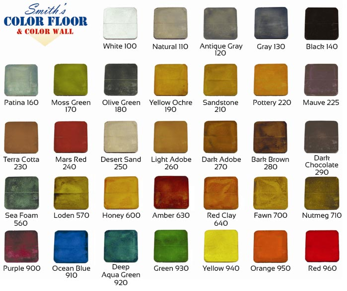 Smith Stain Colors Garagecoatings Com