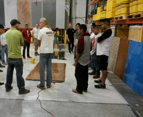 1-Day Epoxy Flooring and Cabinet Installation Workshop